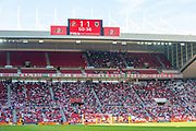 General view inside the stadium during the EFL Sky Bet League 1 match between Sunderland and AFC Wimbledon at the Stadium Of Light, Sunderland, England on 24 August 2019.
