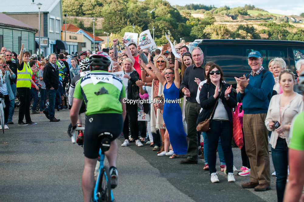 Ride the North 2015<br /> Finish Line in Stonehaven<br /> <br /> picture by Alex Hewitt<br /> alex.hewitt@gmail.com<br /> 07789 871 540Ride the North 2015<br /> Cycle challenge raising money for charity, with 850 riders cycling from Inverness to Elgin to Stonehaven over 2 days<br /> <br /> 28th-29th August  2015<br /> <br /> picture by Alex Hewitt<br /> alex.hewitt@gmail.com<br /> 07789 871 540