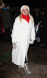 Vanessa Feltz  at the Winter Wonderland launch in London, Thursday, 21st November 2013. Picture by  i-Images