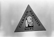 17/11/1964<br /> 11/17/1964<br /> 17 November 1964<br /> <br /> Champion Roadster Badge