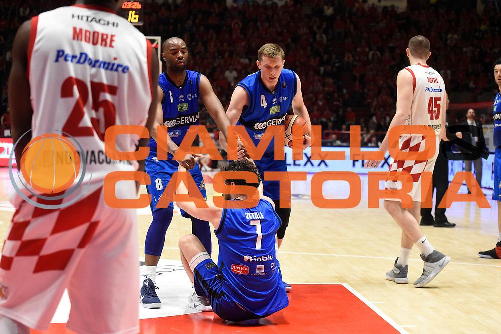 - sport basket serie a The Flexx Pistoia - Germani Basket Brescia<br /> Vitali Luca<br /> The Flexx Pistoia - Germani Basket Brescia<br /> Legabasket A 2016/2017<br /> Pistoia 07/05/2017<br /> Foto Ciamillo-Castoria