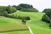 Landschaft bei Wald-Michelbach, Odenwald, Hessen, Deutschland