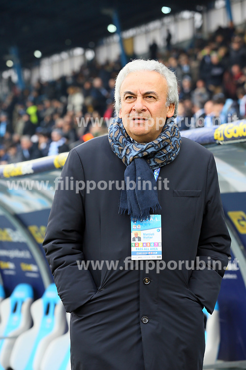 "Foto Filippo Rubin<br /> 06/01/2018 Ferrara (Italia)<br /> Sport Calcio<br /> Spal - Lazio - Campionato di calcio Serie A 2017/2018 - Stadio ""Paolo Mazza""<br /> Nella foto: WALTER MATTIOLI <br /> <br /> Photo by Filippo Rubin<br /> January 06, 2018 Ferrara (Italy)<br /> Sport Soccer<br /> Spal vs Lazio - Italian Football Championship League A 2017/2018 - ""Paolo Mazza"" Stadium <br /> In the pic: WALTER MATTIOLI"
