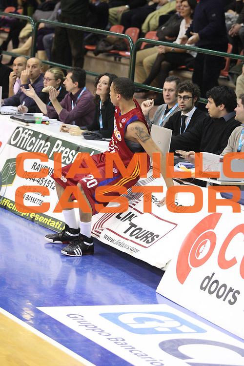 DESCRIZIONE : Ferrara Lega A1 2008-09 Carife Ferrara Lottomatica Virtus Roma<br /> GIOCATORE : Ibrahim Jaaber<br /> SQUADRA : Lottomatica Virtus Roma Carife Ferrara<br /> EVENTO : Campionato Lega A1 2008-2009 <br /> GARA : Carife Ferrara Lottomatica Virtus Roma<br /> DATA : 7/12/2008 <br /> CATEGORIA : Equilibrio<br /> SPORT : Pallacanestro <br /> AUTORE : Agenzia Ciamillo-Castoria/G.Ciamillo