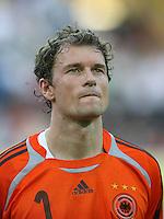 Fussball WM 2006  Halbfinale Deutschland - Italien  Jens Lehmann (GER) im Portraet