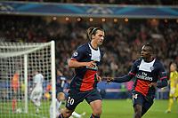 Zlatan Ibrahimovic (psg) - Blaise Matuidi (psg)