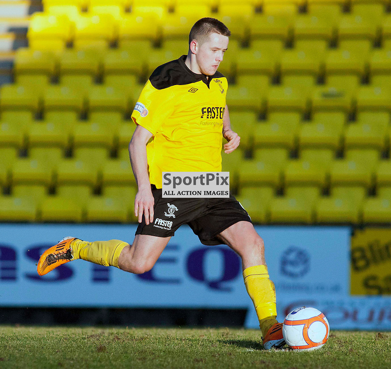 Marc McNulty scores from the spot, Livingston v Raith Rovers, SFL Division 1, Braidwood Motor Company Stadium,
