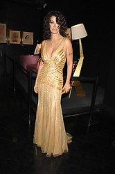 COUNTESS MONTEVERDE at Andy & Patti Wong's Chinese new Year party held at County Hall and Dali Universe, London on 26th January 2008.<br />