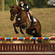 Cassidy Lundmark (USA) and What's Shakin' at the 2007 CN North American Junior and Young Riders' Championships held at the Virginia Horse Center in Lexington, Virginia