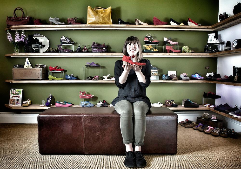 Shoes - Hebden Bridge - Shopkeeper Project