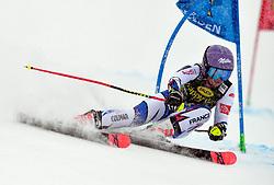27.10.2018, Rettenbach Ferner, Sölden, AUT, FIS Weltcup Ski Alpin, Sölden, Riesenslalom, Damen, 2. Lauf, im Bild Tessa Worley (FRA) // Tessa Worley (FRA) in action during her 2nd run of ladie's Giant Slalom of the FIS Ski Alpine Worldcup opening at the Rettenbach Ferner in Sölden, Austria on 2018/10/27. EXPA Pictures © 2018, PhotoCredit: EXPA/ SM<br /> <br /> *****ATTENTION - OUT of GER*****