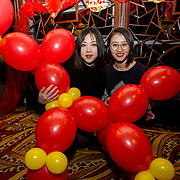 13.02.2018.<br /> University of Limerick International Office Chinese New Year Celebrations, Chungs Chinese Cuisne Castletroy. <br />  Pictured at the event were UL International students, Xuan Zhou and Yaman Zhu. Picture: Alan Place