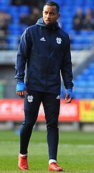 Loic Damour of Cardiff City warms up- Mandatory by-line: Nizaam Jones/JMP - 17/02/2018 -  FOOTBALL - Cardiff City Stadium - Cardiff, Wales -  Cardiff City v Middlesbrough - Sky Bet Championship