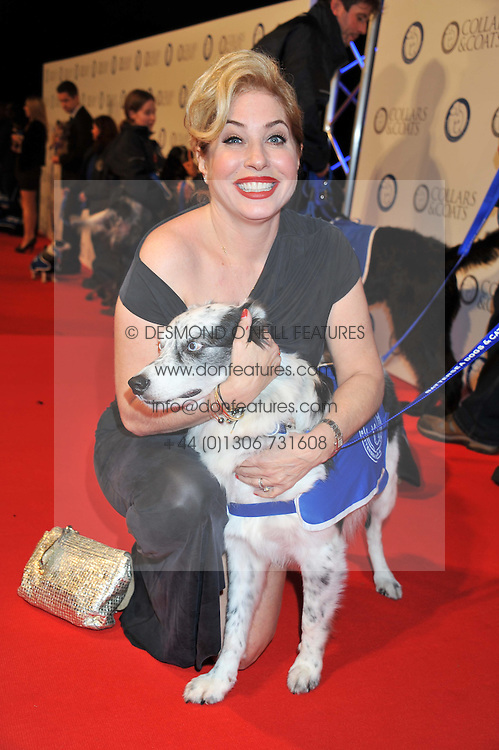 BRIX SMITH START and Battersea Dog at the annual Collars & Coats Gala Ball in aid of Battersea Dogs & Cats Home held at Battersea Evolution, Battersea Park, London on 11th November 2011.