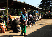 A young boy in the small town of Soppong Thailand.