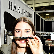 Hakuhodo exhibition at IMATS London on 18 May 2019,  London, UK.