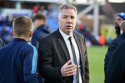Peterborough Manager Darren Ferguson after the EFL Sky Bet League 1 match between Peterborough United and Burton Albion at London Road, Peterborough, England on 4 May 2019.
