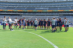 September 6, 2018 - East Rutherford, NJ, USA - East Rutherford, NJ - Thursday September 6, 2018: The USMNT train in preparation for their match versus Brazil. (Credit Image: © John Dorton/ISIPhotos via ZUMA Wire)