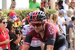Ian Stannard (GBR) Team Ineos crosses the finish line at the end of Stage 3 of La Vuelta 2019 running 188km from Ibi. Ciudad del Juguete to Alicante, Spain. 26th August 2019.<br /> Picture: Eoin Clarke | Cyclefile<br /> <br /> All photos usage must carry mandatory copyright credit (© Cyclefile | Eoin Clarke)