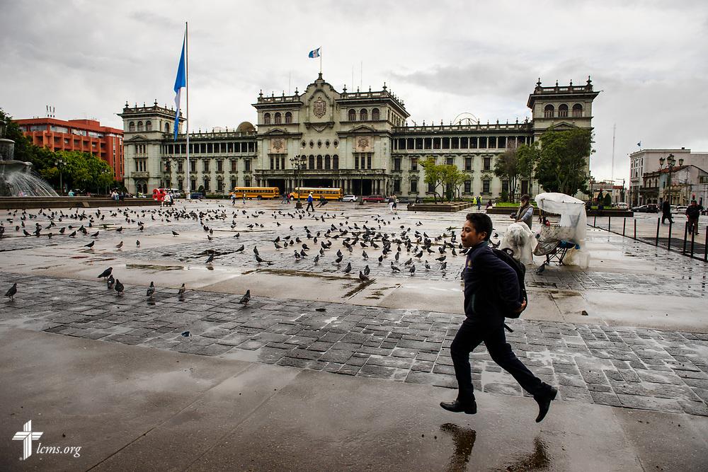The Palacio Nacional de la Cultura (National Palace) on Thursday, Oct. 5, 2017, in Guatemala City, Guatemala. LCMS Communications/Erik M. Lunsford