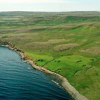 Kumblavík séð til vesturs, Langanesbyggð áður Sauðaneshreppur / Kumblavik viewing west, Langanesbyggd former Saudaneshreppur.