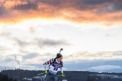 March 9, 2019 - –Stersund, Sweden - 190309 Jake Brown of USA competes in the Men's 10 KM sprint during the IBU World Championships Biathlon on March 9, 2019 in Östersund..Photo: Petter Arvidson / BILDBYRÃ…N / kod PA / 92252 (Credit Image: © Petter Arvidson/Bildbyran via ZUMA Press)