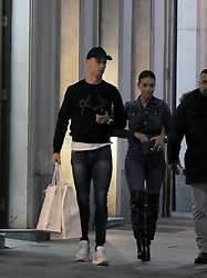 EXCLUSIVE: Cristiano Ronaldo spotted after doing shopping at Prada with girl-friend Georgina Rodriguez and mum Dolores. 12 Feb 2019 Pictured: Cristiano Ronaldo; Georgina Rodriguez. Photo credit: MEGA TheMegaAgency.com +1 888 505 6342