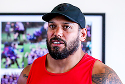John Afoa looks on as Bristol Bears train and prepare for the 2018/19 Gallagher Premiership Rugby Season - Mandatory by-line: Robbie Stephenson/JMP - 16/07/2018 - RUGBY - Clifton Rugby Club - Bristol, England - Bristol Bears Training