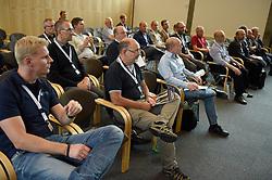 DK caption:<br /> 20140909, Brøndby, Danmark:<br /> MCH Messe, Automatik 2014. Konference<br /> Foto: Lars Møller<br /> UK Caption:<br /> 20140909, Brondby, Denmark:<br /> MCH Fair, Automatik 2014: Conference<br /> Photo: Lars Moeller