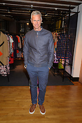 Swimmer MARK FOSTER at a party to celebrate the publication of Holding by Graham Norton held at Liberty, Regent Street, London on 12th October 2016.