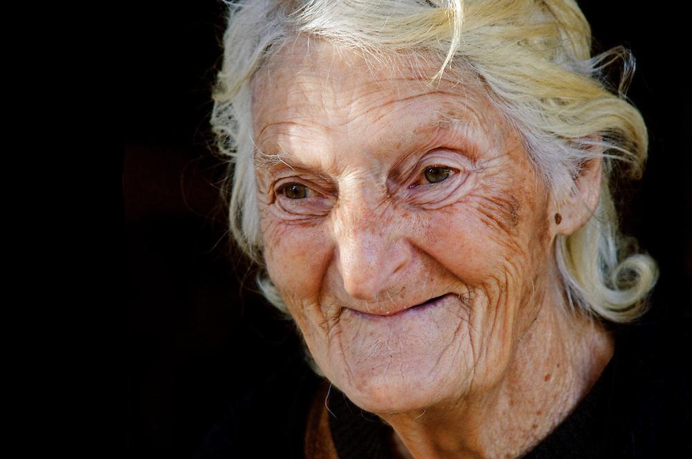 Aneta Karchava, 86 years old.