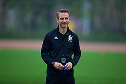 NANNING, CHINA - Sunday, March 25, 2018: Wales' assistant coach Albert Stuivenberg during a training session at the Guangxi Sports Centre ahead of the 2018 Gree China Cup International Football Championship final match against Uruguay. (Pic by David Rawcliffe/Propaganda)