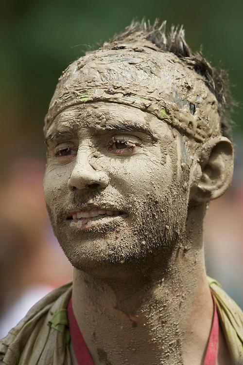 Tough Mudder competitor at Copper Mountain, Colorado