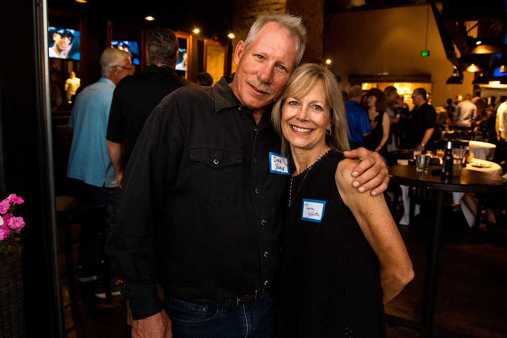 CENTENNIAL, CO - JULY 13: Thomas Jefferson High School 40th reunion at ViewHouse Centennial on July 13, 2019, in Centennial, Colorado. (Photo by Daniel Petty/A&D Creative)