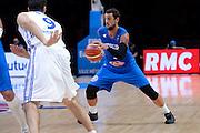 DESCRIZIONE : Lille Eurobasket 2015 Italia Repubblica Ceca Italy Czech Republic<br /> GIOCATORE : Marco Belinelli<br /> CATEGORIA : nazionale maschile senior A<br /> GARA : Lille Eurobasket 2015 Italia Repubblica Ceca Italy Czech Republic<br /> DATA : 17/09/2015<br /> AUTORE : Agenzia Ciamillo-Castoria