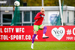 Danique Kerkdijk of Bristol City prior to kick off - Mandatory by-line: Ryan Hiscott/JMP - 14/10/2018 - FOOTBALL - Stoke Gifford Stadium - Bristol, England - Bristol City Women v Birmingham City Women - FA Women's Super League 1