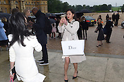 JING SHI; JADE JIN, Dior presentation of the Cruise 2017 collection. Blenheim Palace, Woodstock. 31 May 2016