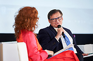 Warsaw, Poland - 2017 April 07: (R) Boleslaw Samolinski - expert in public health / Warsaw University and Foundation for Healthy Aging speaks while The Day of Health - science conference in the National Library on April 07, 2017 in Warsaw, Poland.<br /> <br /> Mandatory credit:<br /> Photo by © © Adam Nurkiewicz / Mediasport / Mediasport<br /> <br /> Picture also available in RAW (NEF) or TIFF format on special request.<br /> <br /> Any editorial, commercial or promotional use requires written permission from the author of image.<br /> <br /> Adam Nurkiewicz declares that he has no rights to the image of people at the photographs of his authorship.