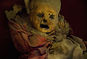 Guanajuato, Mexico, 2006-A mummified child in a red dress