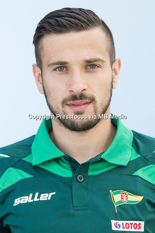 FOOTBALL POLISH EKSTRAKLASA SEASON 2014/2015<br /> Lechia Gdansk<br /> N/Z Maciej Makuszewski