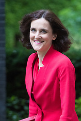 Downing Street, London, July 5th 2016. Northern Ireland Secretary Theresa Villiers arrives at 10 Downing Street for the weekly cabinet meeting