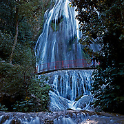 Cola de Caballo waterfall..Monterrey, NL..Mexico