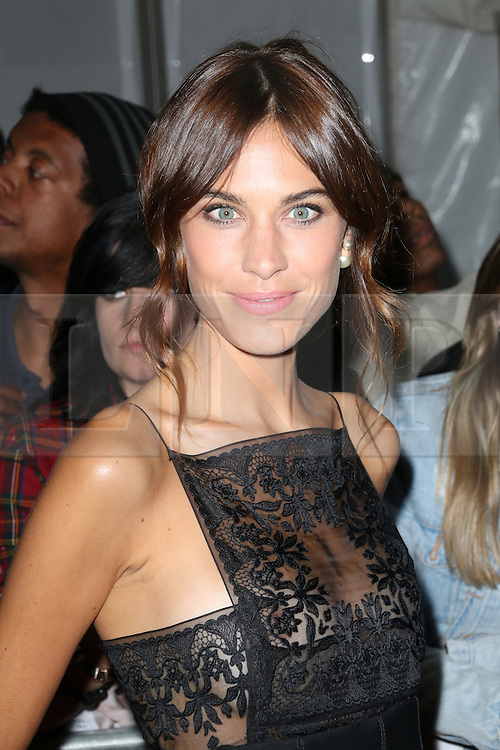 © Licensed to London News Pictures. 03/06/2014, UK. Alexa Chung, Glamour Women of the Year Awards, Berkeley Square Gardens, London UK, 03 June 2014. Photo credit : Richard Goldschmidt/Piqtured/LNP