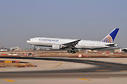 Israel, Ben-Gurion international Airport Continental Air Lines Boeing 777-224(ER)