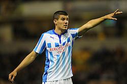 Huddersfield Town's goalscorer, Conor Coady - Photo mandatory by-line: Dougie Allward/JMP - Mobile: 07966 386802 - 01/10/2014 - SPORT - Football - Wolverhampton - Molineux Stadium - Wolverhampton Wonderers v Huddersfield Town - Sky Bet Championship