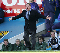 Photo: Lee Earle.<br /> Portsmouth v Blackburn Rovers. The Barclays Premiership. 08/04/2006. Pompey manager Harry Redknapp.