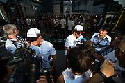 September 3, 2016: Fernando Alonso (SPA), McLaren Honda, Stoffel Vandoorne (BEL), McLaren Honda , Italian Grand Prix at Monza