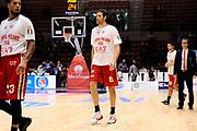 DESCRIZIONE : Sassari Lega Serie A 2014/15 Beko Supercoppa 2014 Finale Olimpia EA7 Emporio Armani Milano - Dinamo Banco di Sardegna Sassari<br /> GIOCATORE : Angelo Gigli<br /> CATEGORIA : Ritratto Riscaldamento<br /> SQUADRA :  Olimpia EA7 Emporio Armani Milano<br /> EVENTO :  Beko Supercoppa 2014 <br /> GARA : Olimpia EA7 Emporio Armani Milano - Dinamo Banco di Sardegna Sassari<br /> DATA : 05/10/2014 <br /> SPORT : Pallacanestro <br /> AUTORE : Agenzia Ciamillo-Castoria/ Luigi Canu<br /> Galleria : Lega Basket A 2014-2015 <br /> Fotonotizia : Sassari Lega Serie A 2014/15 Beko Supercoppa 2014 Finale Olimpia EA7 Emporio Armani Milano - Dinamo Banco di Sardegna Sassari<br /> Predefinita :