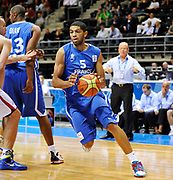 DESCRIZIONE : Equipe de France Homme Euro Lituanie a Siauliai 2011<br /> GIOCATORE : Batum Nicolas<br /> SQUADRA : France Homme <br /> EVENTO : Euro Lituanie 2011<br /> GARA : France Serbie<br /> DATA : 05/09/2011<br /> CATEGORIA : Basketball France Homme<br /> SPORT : Basketball<br /> AUTORE : JF Molliere FFBB FIBA<br /> Galleria : France Basket 2010-2011 Action<br /> Fotonotizia : Equipe de France Homme <br /> Euro Lituanie 2011 a Siauliai <br /> Predefinita :