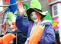 18/03/2013  Participants   in the Gort St Patrick's Day Parade in South Galway. Picture:Andrew Downes.